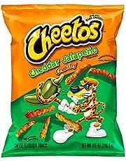Cheetos Cheddar Jalapeno Crunchy Snack, 226.8g