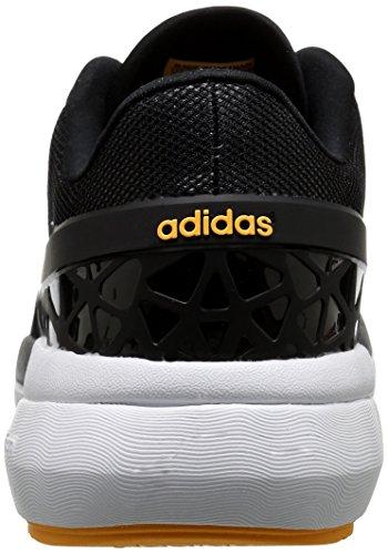 ... Adidas Neo Menns Cloudfoam Flyt Shoe Black / Black / Utstyr Grønn ...