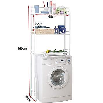 Waschmaschine Regal Doppelkohlenstoffstahl Badezimmer