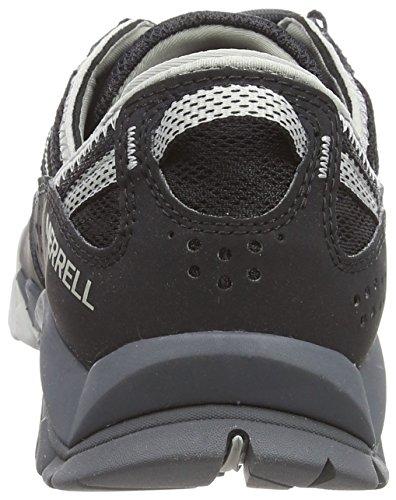 Para Tetrex Black Surge Crest Negro Mujer de Zapatillas Senderismo Merrell Y71FwqAF