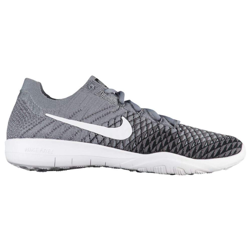 the latest bc870 431f1 NIKE Free TR Flyknit 2 SZ 8.5 Womens Cross Training Cool  Grey/White-Black-Dark Grey Shoes