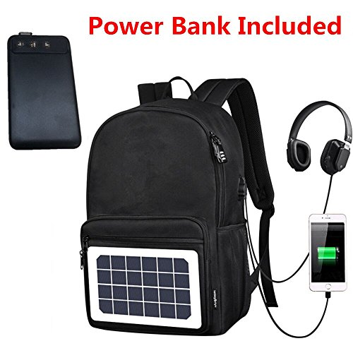 Solar Charging Backpack - 6