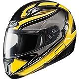 HJC Zader Men's CL-MAX II Bluetooth Full Face Motorcycle Helmet - MC-3 / Medium