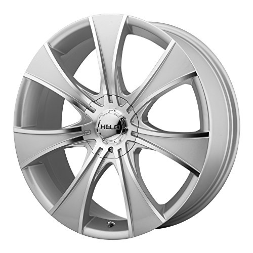 Helo HE874 Dark Silver Wheel with Machined Face