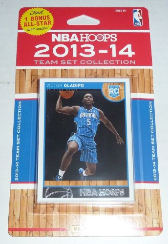 Orlando Magic Brand New 2013 2014 Hoops Basketball Factory Sealed 10 Card NBA Licensed Team Set Panini