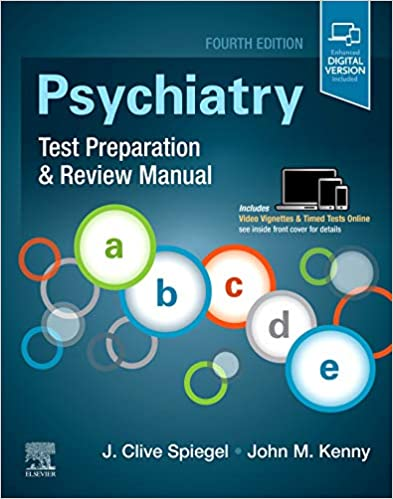 Psychiatry Test Preparation and Review Manual E-Book, 4th Edition - Original PDF