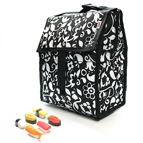 packit-personal-cooler-lunch-bag-vine-with-sushi-eraser