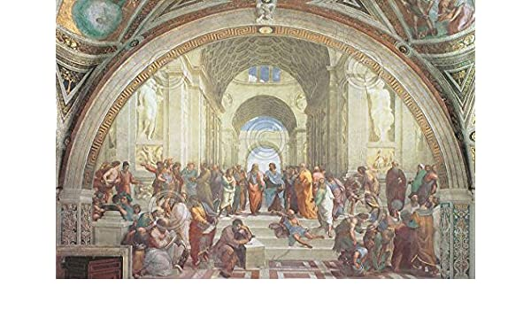 The School of Athens by Raphael Renaissance Ancient Greece Print Poster 11x14