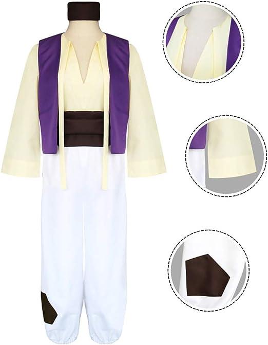 SHIXUE Disfraz Cosplay Aladdin Adulto Disfraz De Halloween Anime ...