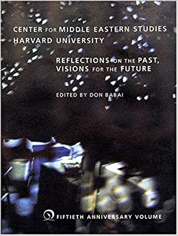 Book Reflections on the Past, Visions for the Future (Middle Eastern Studies)