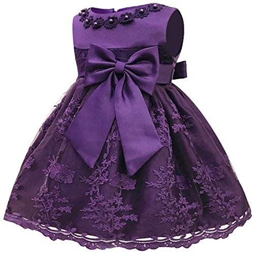 Infant Vestidos Baby Girl Clothes Baby Dress Butterfly Pearl Girl Wear Sleeveless Dress for Birthday Party Toddler Costume As picture14 6M -