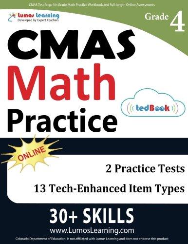 CMAS Test Prep Full length Assessments product image