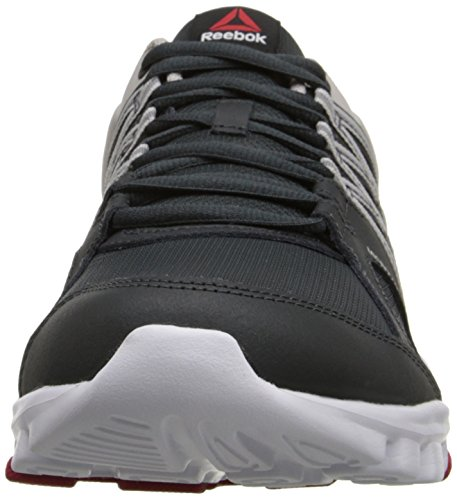 outlet big sale Reebok Men's Yourflex Train 8.0 L MT Training Shoe Gravel/Steel/Excellent Red/White shipping outlet store online free shipping get authentic cheap sale best AbwtMF