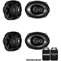 Kicker for Ram Crew Cab Truck 2012 & Up 43CSC6934 6x9 Speaker Bundle