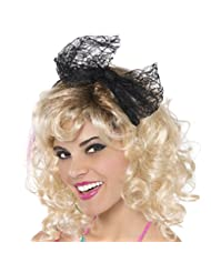 : Amscan Awesome 80\'s Party Lace Headband with Bow (1 Piece)...