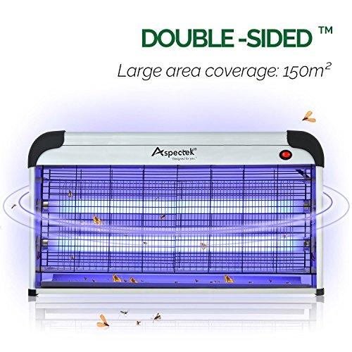 Aspectek 40W Electronic Bug Zapper Indoor Insect Killer by Aspectek