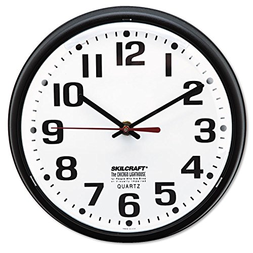 Skilcraft Clock,Wall,BK,6645 by Skilcraft