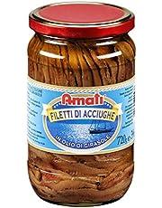 Filets d'anchois à l'huile de tournesol 720g | Amati