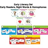 I See, I Spell, I Learn Early Childhood Literacy Set (K-2) - 10 Phonics Storybooks, 3 Picture Sight Words Sets & 2 Picture Homophones Sets