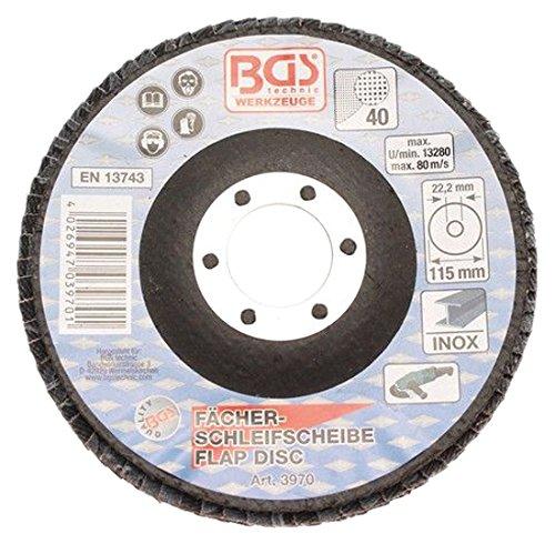 Bgs/ /Rabat pour meulage disques Diam/ètre 115/mm Grain 40/Lot de 1