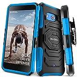 HTC U11 Case, Evocel [New Generation] Rugged Holster Dual Layer Case [Kickstand][Belt Swivel Clip] For HTC U11 (DOES NOT fit HTC U11 Life), Blue (EVO-HTCU11-XX02)