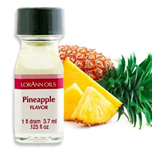LorAnn Super Strength Pineapple Flavor, 16 Ounce (Pineapple Flavor Oil)