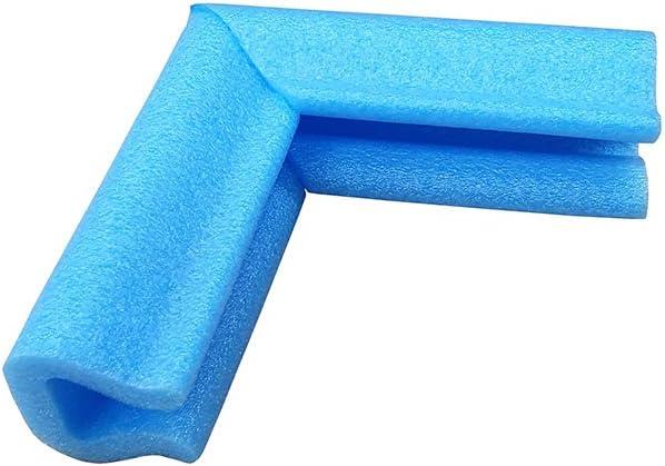 Protections dangle ou de bords pour cadre photo ou miroir de table Bleu En mousse PE
