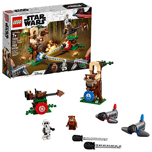 (LEGO Star Wars Action Battle Endor Assault 75238 Building Kit (193 Piece) )