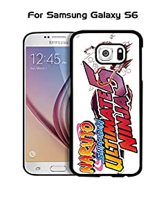 Hard Plastic Cool Galaxy S6 Funda Case Japan Comics Naruto Logo - Vintage Pattern Ultra Thin Drop Protection Back Film Protector Skin For Samsung Galaxy S6