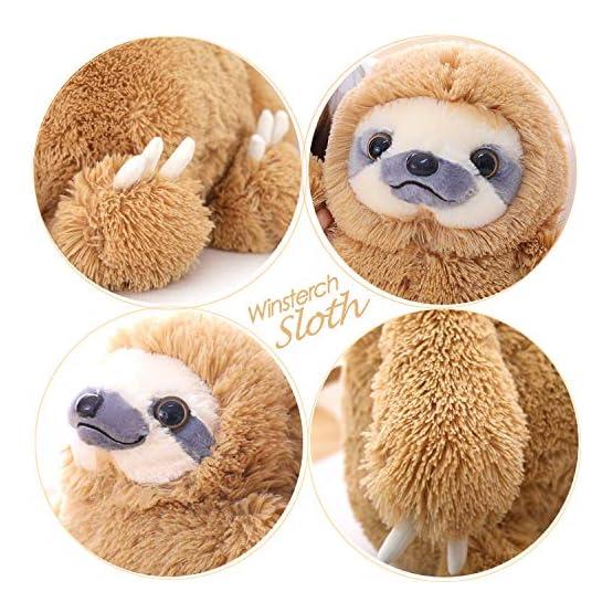 Cute Sloth Plush | 15.7 Inches | Winsterch Plushies 3