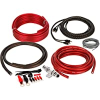 Professional Grade 4 Gauge 2 Channel Amp Wiring Kit (BAK42)