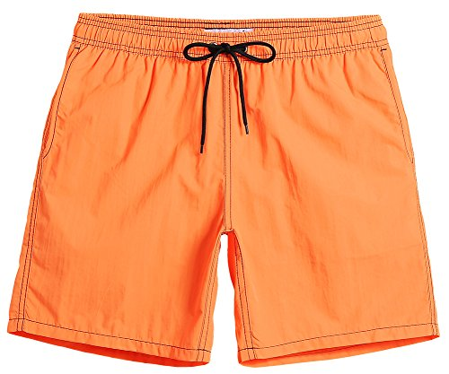 MaaMgic Mens Quick Dry Swim Trunks With Mesh Lining Male Bathing (Men Designer Suits)