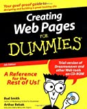 Creating Web Pages for Dummies, Bud E. Smith and Arthur Bebak, 0764582216