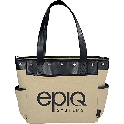 Fine Society Nicole Icon Compu - Tote - 12 Quantity - $32.80 Each - PROMOTIONAL PRODUCT / BULK / BRANDED with YOUR LOGO / CUSTOMIZED by Sunrise Identity (Image #1)
