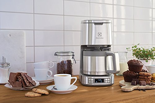 Electrolux ELTC10D8PS Expressionist Thermal Coffee Maker, Stainless Steel - Coffee Pigs