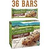 Cascadian Farm Organic Granola Bars, Chocolate Chip Chewy Granola Bars, 6 Bars, Net Wt 7.4 oz (Pack of 6)