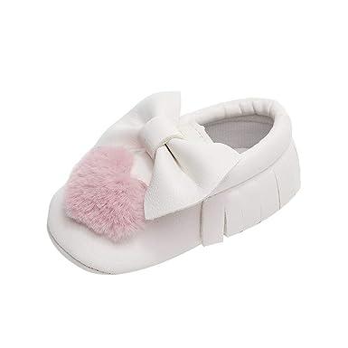 5759fb1cdbaf8 Amazon.com: Baby Girl Infant Casual Sequin Polka-Dot Elastic Shoes ...