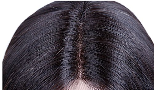 Peluca Indetectable de pelo 100% Natural Humano (remy) (65 cm): Amazon.es: Belleza
