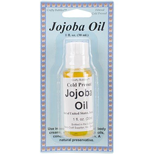 Bolek's Crafty Bubbles Jojoba Oil, 1 oz (Crafty Bubbles)