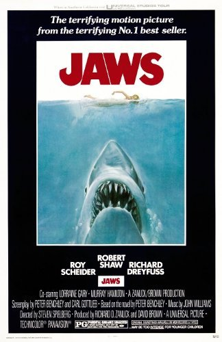 Jaws : 11 x 17 inches  : movie poster