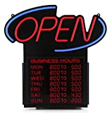 Premier POS 20'' Business Hours Open Led Sign