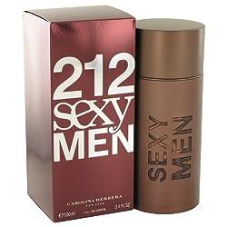 212 Sexy by Çárólíñá Hérrérá for Men Eau De Toilette Spray 3.3 oz