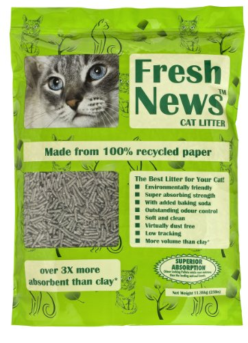 Fresh News Cat Litter, 25 Pounds, My Pet Supplies