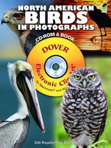 North American Birds in Photographs CD-ROM and Book (Dover Electronic Clip Art)