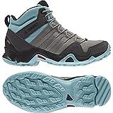 Adidas Sport Performance Women's Terrex AX2R Mid Gore-Tex Outdoor Sneakers, Multi Textile, 8 M