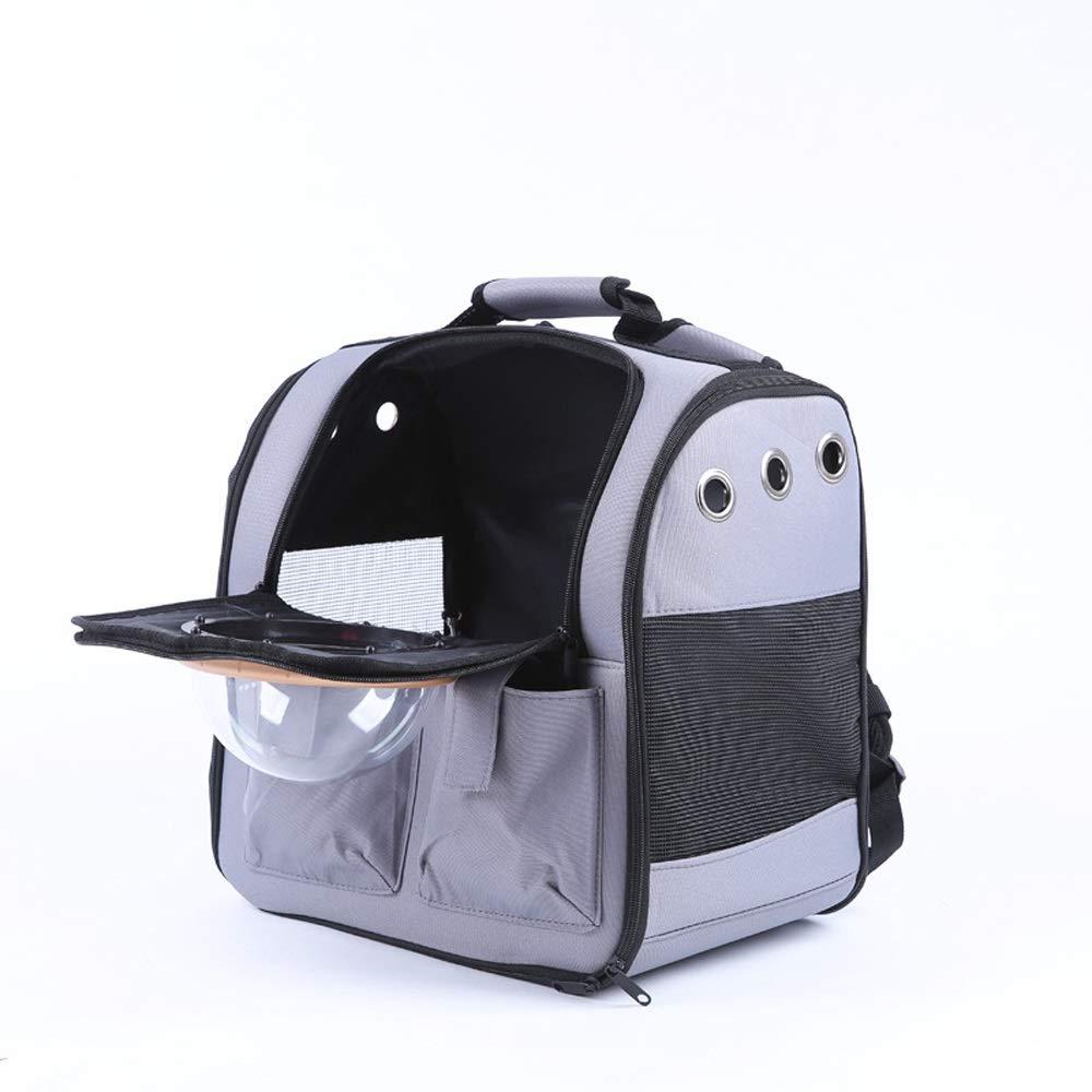 A Pet Backpack Out Portable Pet Bag Breathable Pet Supplies (color   A)