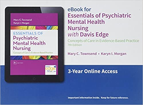 Davis Edge For Essentials Of Psychiatric Mental Health Nursing
