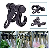 FidgetKute 1pc Load 6kg Universal Hook Holder Hanger Multi-Functional for Sedan Pickup