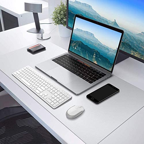 PVC Mantel Rectangular Transparente 100x50cm Impermeable Überdachte Küche Schreibtischunterlage Schutz Kristalltuch-Rutschfest