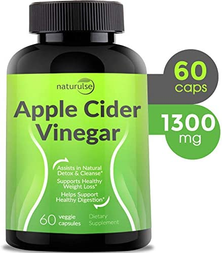 Apple Cider Vinegar Capsules 1300mg product image